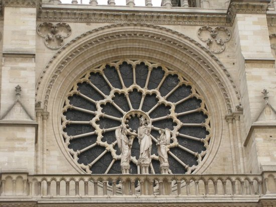 มหาวิหารน็อทร์-ดาม: Catedral de Notre-Dame - rosácea