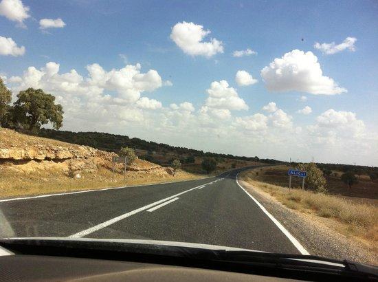 Midyat Old City: The Road to Midyat from Mardin