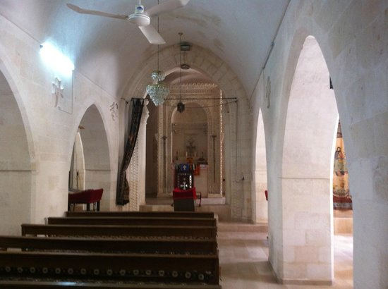 Midyat Old City: The only church I visited at Midyat