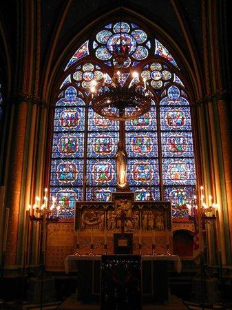 มหาวิหารน็อทร์-ดาม: Catedral de Notre-Dame - vitral
