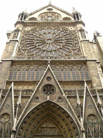 มหาวิหารน็อทร์-ดาม: Catedral de Notre-Dame - fachada