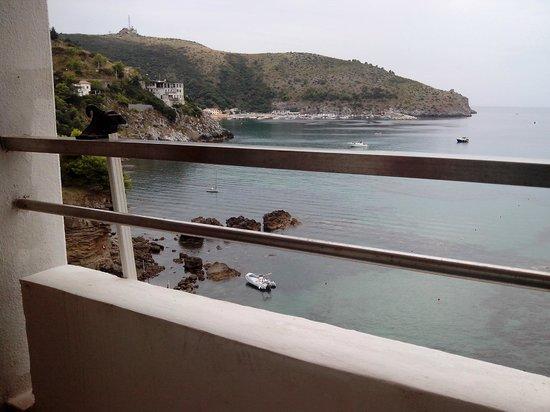 Hotel Lido Ficocella: Il porto in lontananza