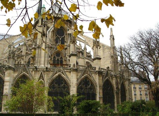 มหาวิหารน็อทร์-ดาม: Catedral de Notre-Dame - contrafortes