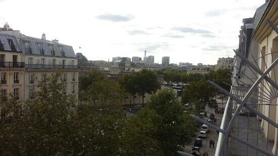 Hotel le Tourville : balcony view room 54