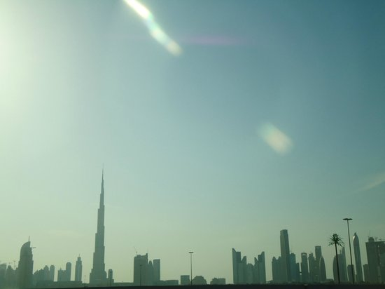 Arabian Team Adventures: dubai skyline, en-route to dessert
