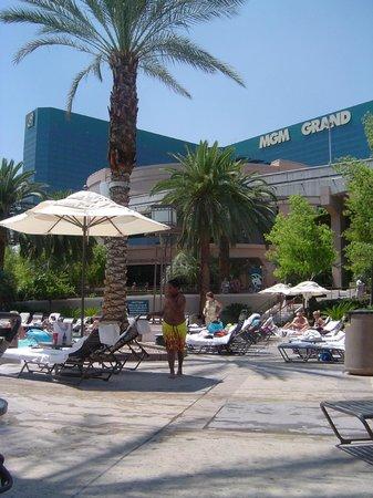Swimming Pool Picture Of Mgm Grand Arena Las Vegas Tripadvisor