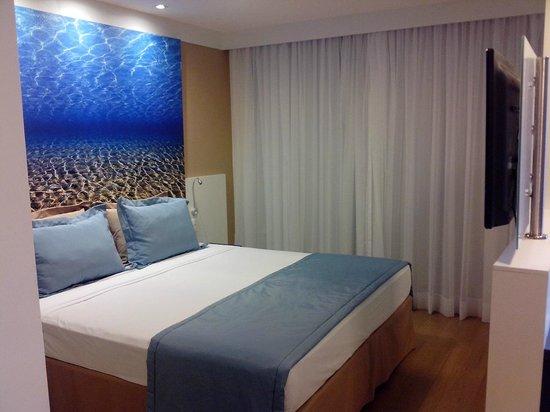Mercure Fortaleza Meireles Hotel: Cama de casal