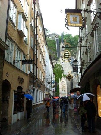 Salzburger Altstadt: Shopping in Salzburg