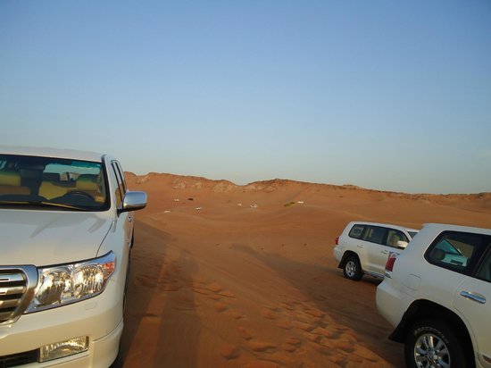 Arabian Team Adventures: dune bashing