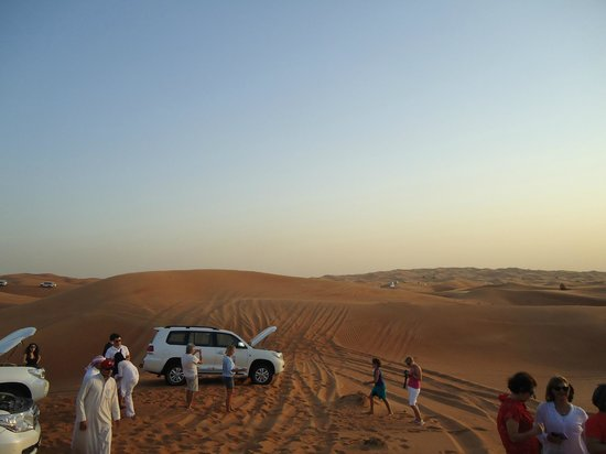 Arabian Team Adventures: near the camp