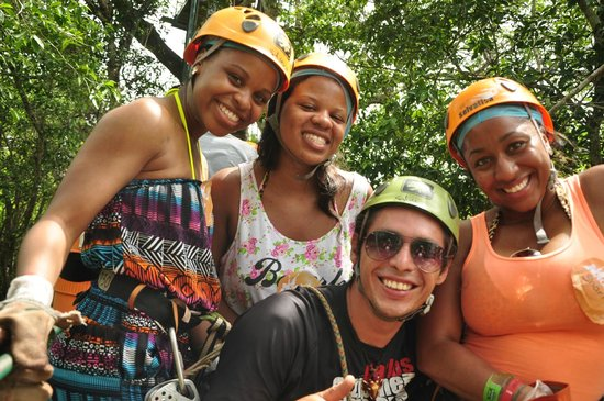 Selvatica: my cousins and i and a staff member