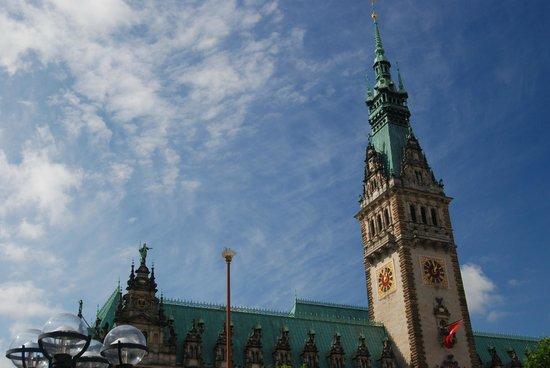 Town Hall: Rathaus Hamburg