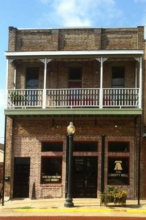 The Liberty Bell: The storefront on a beautiful day.  Open for lunch, too!