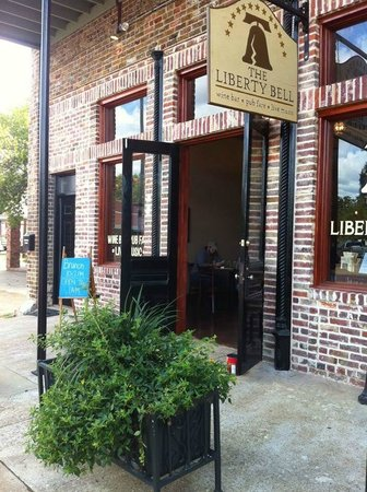 The Liberty Bell: When weather permits, our doors stay open allowing the music to spill onto Main Street.  Come on