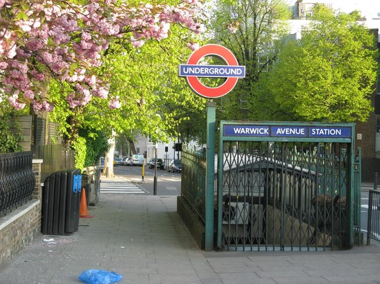 Little Venice: Warwick Tube Station