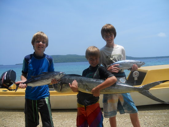 Havannah Eco Lodge: Gideons Fishing Charters