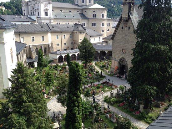 Salzburger Altstadt: Cemetery