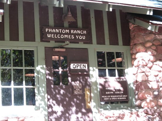 Phantom Ranch: the dining room.recreation hall/gift shop