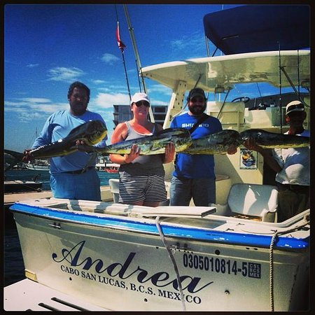 Pisces Sportfishing: We took some back to the resort and had them cook it up! What a day!!!!
