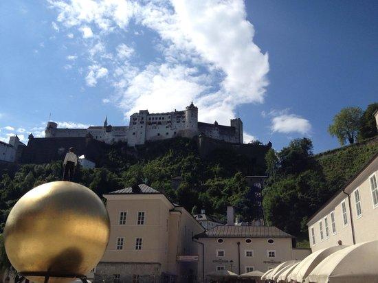 Salzburger Altstadt: Overlooking Salzburg