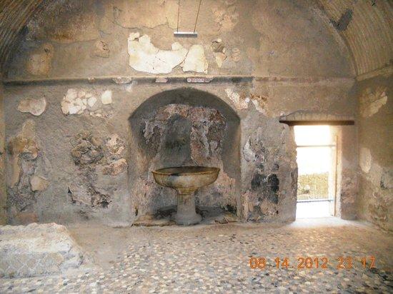 Parco Acheologico di Ercolano: Bathhouse?