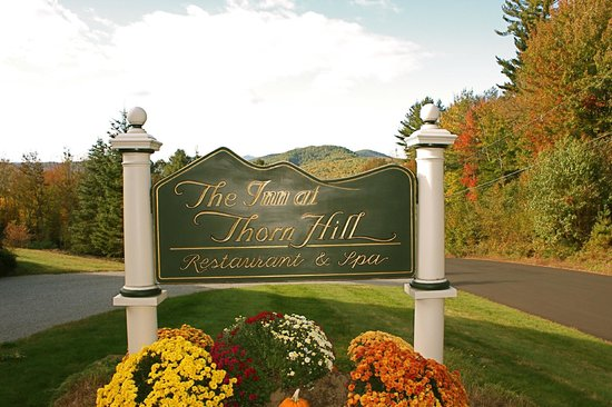 The Inn at Thorn Hill & Spa: Beautiful early Fall afternoon