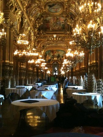 Palais Garnier - Opéra National de Paris: The mezzanine bar/cafe