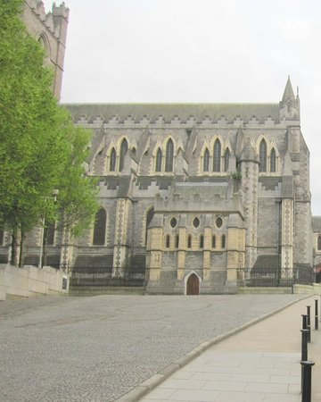 Christ Church Cathedral: Vista parcial del exterior.