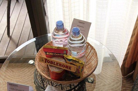 โรงแรมพาร์ครอยัลปีนัง: ماء مجاني