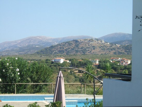 My Little Place On the Hill: view from our balcony showing St George's Castle in the background