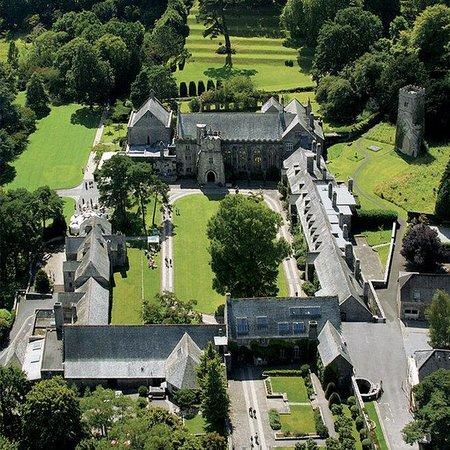 Dartington Hall Hotel: Exterior Aerial View