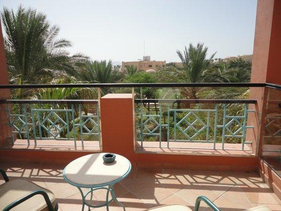 TUI Magic Life Sharm el Sheikh: Balcony area with garden view