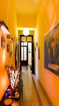 Dolce Dormire Palermo: corridoio