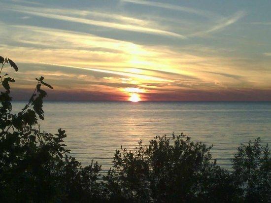 Peninsula State Park: Evening Sunset