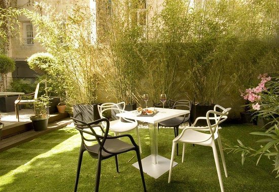 เลอ บูติค โฮเต็ล: Garden