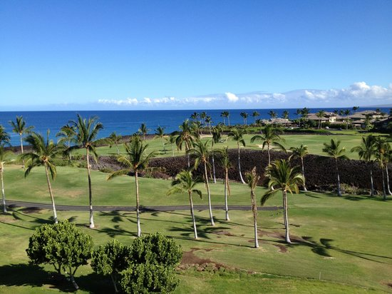 Hilton Waikoloa Village: The view from our room