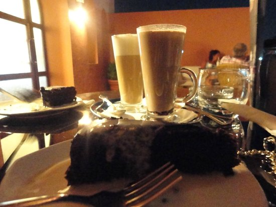 TUI Magic Life Sharm el Sheikh: Latte and cakes from the Magic tower