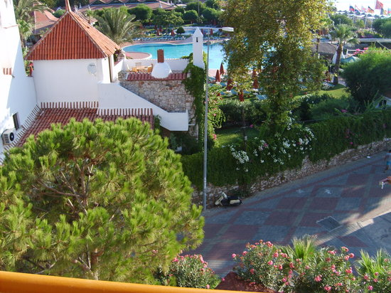 Fortuna Beach Hotel: balcony view