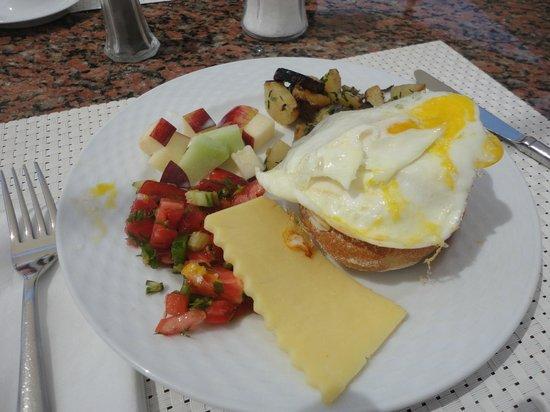 TUI Magic Life Sharm el Sheikh: Breakfast from main Magico restaurant