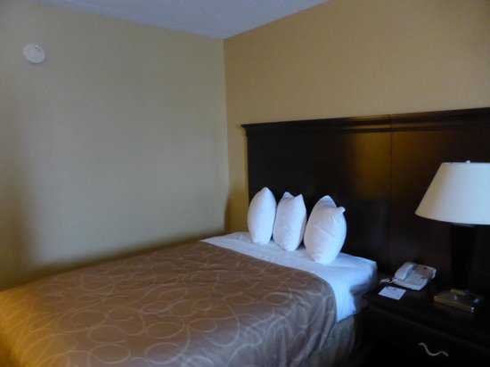 Best Western Hopkinsville: One of the two beds