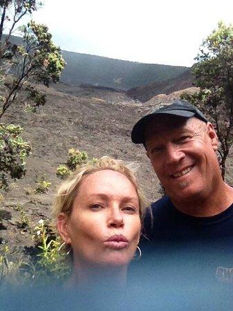 Kilauea Iki Trail: us