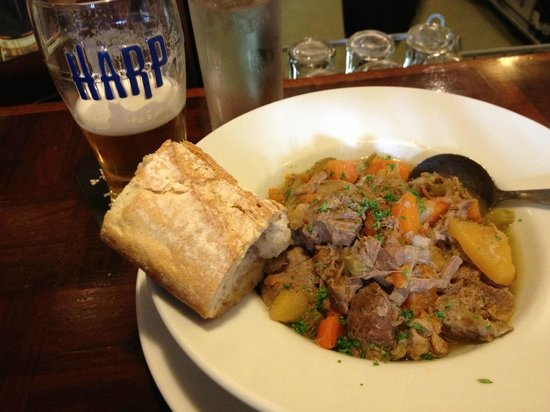 The Laurels: Lamb Stew and a Harp