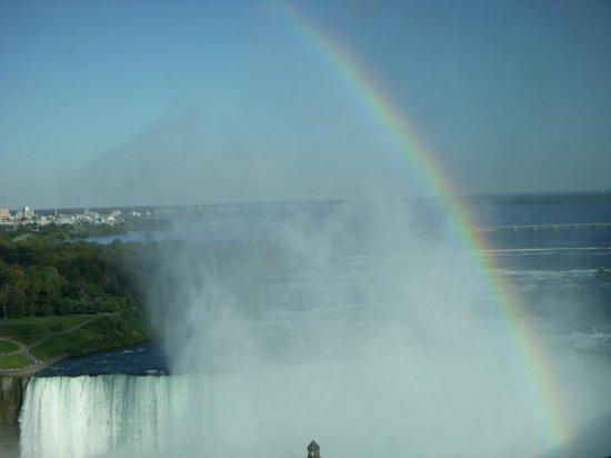 Niagara Falls: Rainbow over Horseshoe Falls, Niagara, Canada