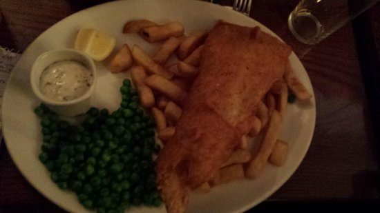 Green Man: Fish and Chips