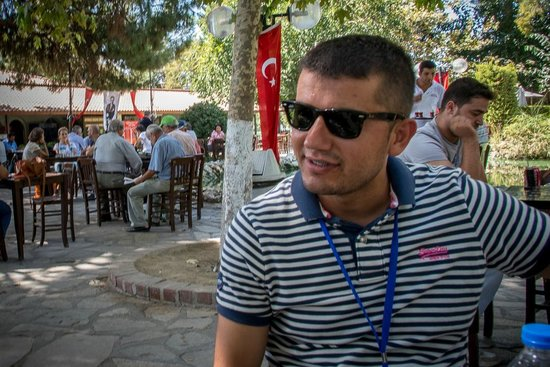 Best of Ephesus Tours: Our terrific guide - Murat - at the Park Cafe