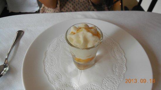 Le Bordeaux: デザート。これで十分なんですがw
