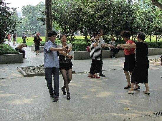 Fuxing Park: Danse