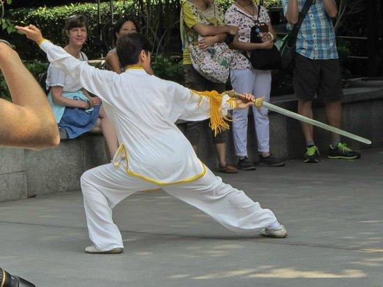 Fuxing Park: Art martial