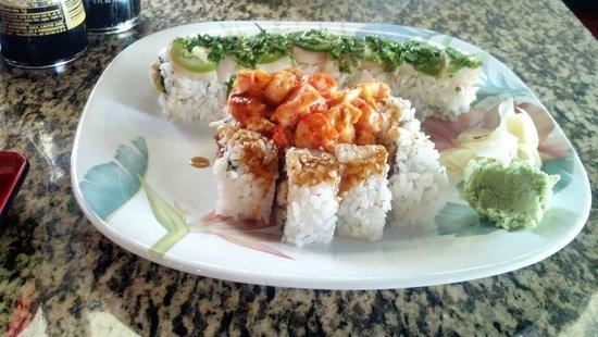 Bushido Sushi: Sushi