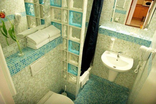 Hotel Bratislava: Bathroom
